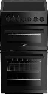 beko edvc503b 50cm double oven electric