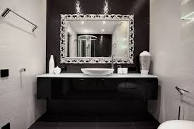 Black White Bathroom Decor Decoist