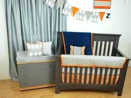 orange and blue crib bedding navy and orange bedding navy grey and orange crib bedding best orange and blue crib bedding