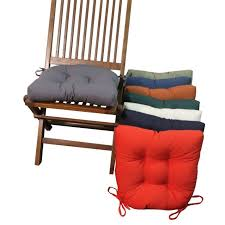 tufted kitchen chair cushion durable polyester fabric and