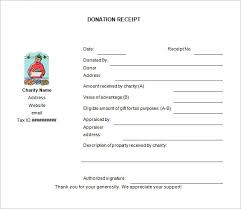 donation receipt forms donation receipt template 12 free word excel pdf format
