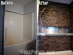 acrylic panels for bathroom walls. bathroom designs with waterproof wall panels faux stone showers are an impressive and affordable addition to designs. acrylic for walls