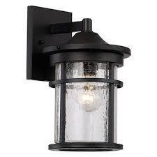 lucid lighting. lucid lighting 11in h black outdoor wall light g