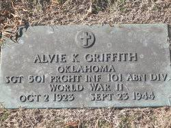 Alvie Kenneth Griffith (1923-1944) - Find A Grave Memorial