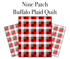 Nine Patch Buffalo Plaid Quilt | Saw it. LOVED IT. Made it. & I am excited to finally release this free pattern on how to make this Nine  Patch Buffalo Plaid Quilt. I was going to wait until I have my quilt quilted  but ... Adamdwight.com
