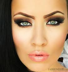 green stani photos makeup tutorials with ideas for blue eyes and brown hair bridal
