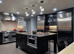 kitchen lighting modern. Delighful Lighting Unique Contemporary Kitchen Ceiling Lights Modern  Inside And Lighting O