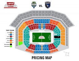 Uc Berkeley Football Stadium Seating Chart Levis Stadium Seating Chart San Jose Earthquakes