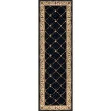 10 foot runner rugs sensation black 2 ft x ft runner rug 10 feet runner rugs