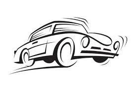 車の白黒イラストのイラスト素材ベクタ Image 11649012