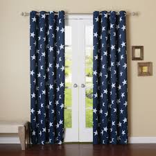 Navy And White Curtains Blue Grommet Curtains 96 Best Curtains 2017