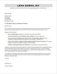 Civil Engineer Resume Cover Letter Civil Engineering Cover Letter