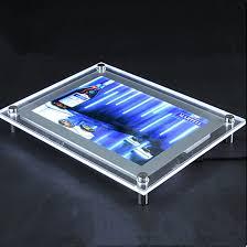Led Light Box Display Stand menu board acrylic light box acrylic stand display ledin 36
