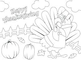 Thanksgiving Coloring Pages For Kids A Happy Thanksgiving Coloring