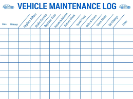 Auto Maintenance Tracking Vehicle Maintenance Log Stay Safe On Your Upcoming Familyrroad Trip