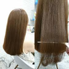 髪質改善髪をおろせないというお悩みから改善を始めて5ヶ月後の