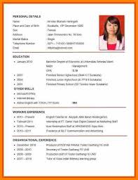 How To Make A Curriculum Vitae Extraordinary Cv Job Application Example Of For Good Resume Sample Curriculum