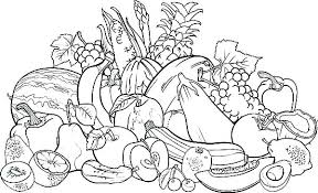 Coloring Pages Fruit New Fruit Colouring In Pages Gallery B