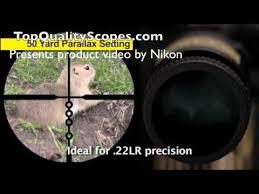 Nikon Prostaff Rimfire Rifle Scope 3 9x40