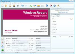 how to create business cards in word best business card software to promote your company black