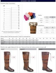 Durango Boots Size Chart Sizing Charts Welsh Farmhouse Company