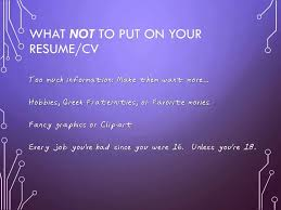 How To Write An IT Resume YouTube Enchanting What Not To Put On A Resume