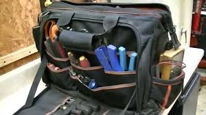 klein tool bag backpack. update my klein ultimate tradesman pro toolbag one year later. - youtube tool bag backpack