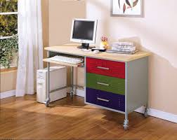 wonderful decorations cool kids desk. Minimalist Teen Desk Idea From Stained Metal And Wooden Top Also Colorful Drawer Storage On Beige Wood Floor Wonderful Decorations Cool Kids R