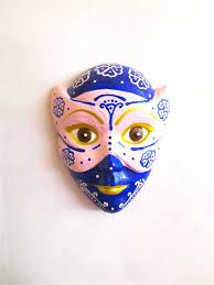 wall art ceramic masks