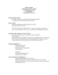 Jobs Resume Format Job Formats Sample First Time Examples