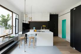 Square Foot Apartment Uses Glass Walls To Create Two Bedrooms - 600 sq ft house interior design