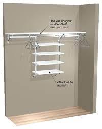 Outstanding Hanging Closet Shelves Brilliant Hanging Storage Shelves For  For Hanging Closet Storage Modern