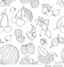スイカ 西瓜 食材 水彩画のイラスト素材 Pixta