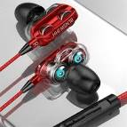 <b>A4</b> Earphone Headphone Red Earbud Headphones Sale, Price ...