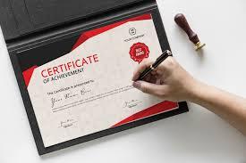 Corporate Certificate Template Certificate Template On Behance