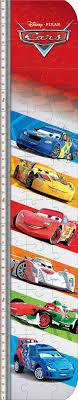 Growth Chart Puzzle Kit 50pc Disney Cars