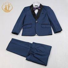 <b>Nimble</b> Blue <b>Suit for Boy</b> Costume Enfant Garcon Mariage <b>Kids</b> ...