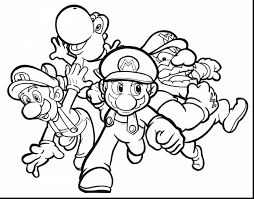 Mario Brothers Toad Coloring Pages Mario Brothers Toad Coloring