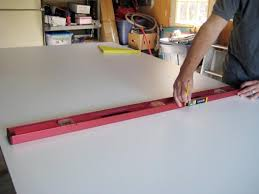 measure and mark the exact dimensions on the mold base then cut using a circular