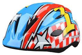 <b>Шлем Runbike</b>. Размер 48-52 см. Цвет: Красно-голубой купить в ...