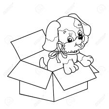 Alleen Kleurplaat Hond Puppy Krijg Duizenden Kleurenfotos Van De