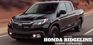 honda ridgeline towing capacities let