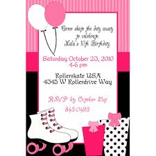 roller skating birthday party invitations ideas drevio balloons roller skating birthday party invitations
