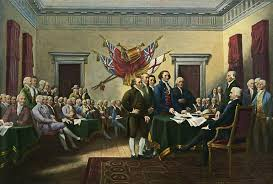 signing the declaration of independence 28th june 1776 painting by john trumbull