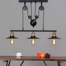 pendant light design multiple black