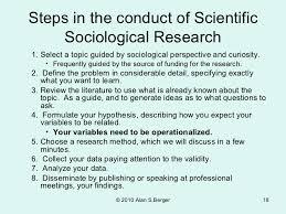 Sociological Research 201 04 Sociological Research Methods