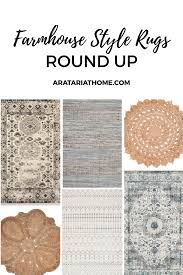 farmhouse style rugs. Round Up Of Farmhouse Style Rugs P