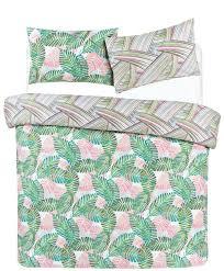 palm leaf double duvet cover
