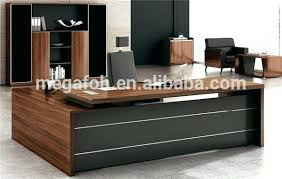 latest office table. Wooden Office Table Latest Big Popular With Side .