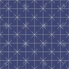 Sashiko Patterns Adorable Antique Japanese Fancywork Sashiko Seamless Pattern Abstract